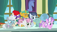 School foals not scared anymore S9E12