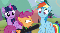 Scootaloo -nothing you can do to stop me!- S8E20