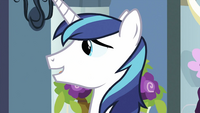 Shining Armor with mouth open S2E25