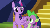 "Spike ""I was orphaned as an egg"" S8E24"