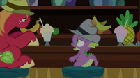 Spike -I don't think leaning's gonna help- S8E10