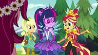 "Sunset Shimmer ""in the crystal cave!"" EG4"