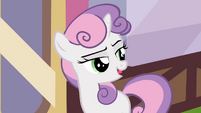 Sweetie -about inviting Twilight out for a meal- S4E15