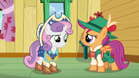 Sweetie Belle and Scootaloo confused S6E4