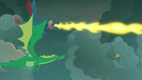 Torch breathes more fire at Flash Magnus S7E16