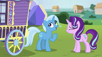 """Trixie """"could've stood one more second"""" S8E19"""