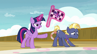 "Twilight Sparkle ""on your mark, get set"" S7E22"