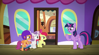 Twilight Sparkle -been wanting to visit- S8E6
