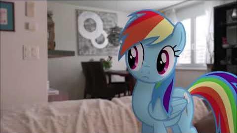 Von Rainbow Dash Der Regenbogen