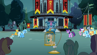 A magic duel at Town Square S3E5