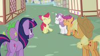 Apple Bloom 'come to those' S2E06