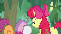 Apple Bloom watches her friends cower S9E22