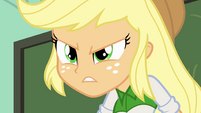 "Applejack arguing ""is too!"" EG"