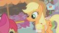 Applejack looks at Apple Bloom S1E12.png