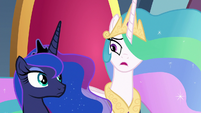 "Celestia ""or work from within it"" S8E25"