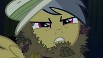 Daring Do leers at Ahuizotl S4E04