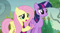 Fluttershy --why are you 'pumpkining' your neighbors--- S5E23