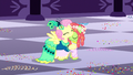 Fluttershy hugging Tree Hugger S5E7.png