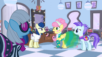 Fluttershy is about to sneeze S01E20