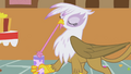 Gilda opens her gift S1E05.png