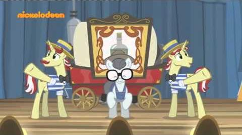 Greek - MLP FiM Flim Flam Miracle Curative Tonic 🎵SONG🎵(S04E20)