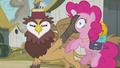 Griffon moves Pinkie to another spot S5E8.png