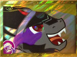 King Sombra trading card series 2 front