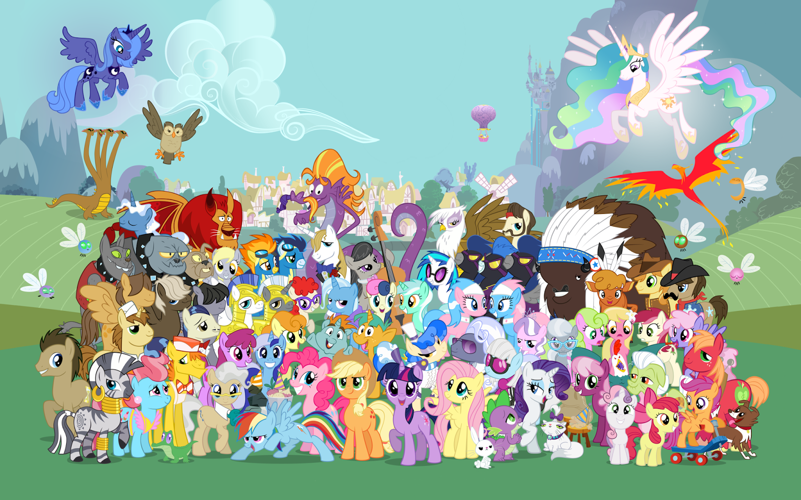 MLP Wallpapers My Little Pony Friendship Is Magic 26559314 2560 1600