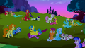 Ponies after the fight S02E03.png