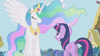 Princess Celestia makes a new decree S1E02