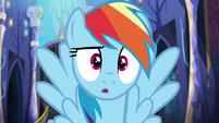 Rainbow Dash --wow-- S6E21