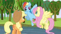 Rainbow Dash -hey, slackers!- S03E10
