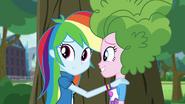 Rainbow and Pinkie hiding EG3