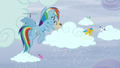 Rainbow sees ponies making the clouds snow S5E5.png