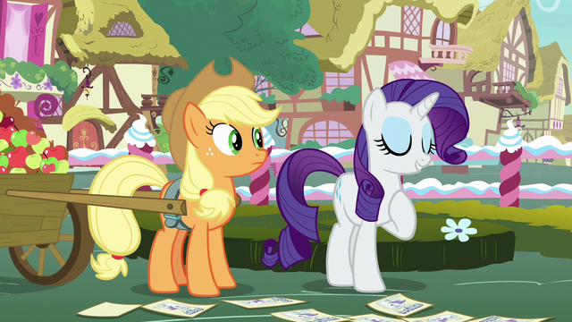 """File:Rarity """"we designers forget about practicality"""" S7E9.png"""