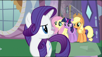 Rarity embarrassed S2E2