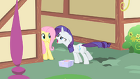 Rarity leaves the scene S1E25