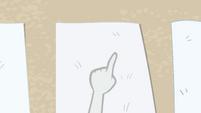 Rarity points to a pale nimbus blanket EGFF