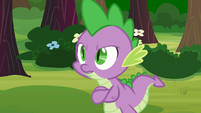 Spike -what was that all about-- S03E09