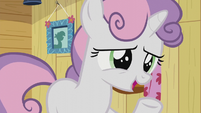 "Sweetie Belle ""we kind of overheard you yesterday"" S5E18"