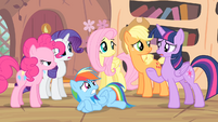 Twilight '...there won't be any apples left...' S4E07