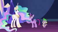 """Twilight Sparkle """"maybe I can send her there"""" S7E1"""