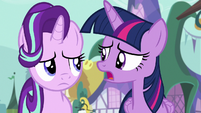 "Twilight Sparkle ""missing the 'friendship' part"" S7E14"