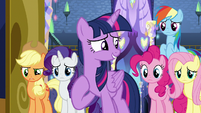 "Twilight Sparkle ""we made mistakes"" S7E14"