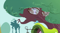 Twilight Sparkle looking through window S2E03