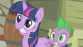 Twilight and Spike scared S1E03.png