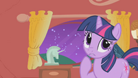 Twilight thinks about Celestia's visit S1E10