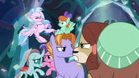 Young three resisting the students S8E26