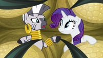 "Zecora ""trapped in the same one"" S8E11"