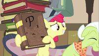 Apple Bloom this book S2E23